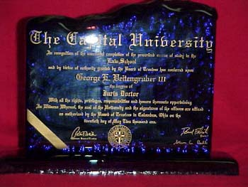 custom engraving and sandblasting by ginny s gems limited only by  college diploma